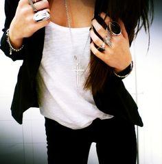 Rocker chic. I love it.