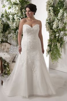 Tahiti | Callista Plus Size Wedding Dresses