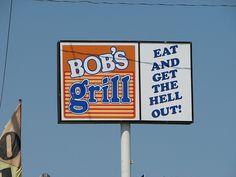 Bob's Grill in Kill Devil Hills :: Outer Banks of North Carolina :: Eat and get the hell out!