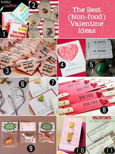 Non-Food Valentine Ideas blog.bitsofeverything.com #valentines #kids #nocandy