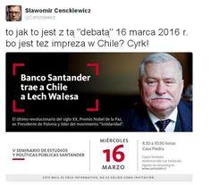"""Wałęsa się rozdwoi? W dniu debaty o """"Bolku"""" ma wizytę w... Chile   niezalezna.pl"""