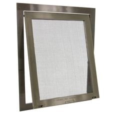 It's the pet door for your screen door or window Swinging screen pet door with metal mesh screen snaps directly onto your existing screen for quick and easy installation High impact polypropy… Pet Screen Door, Sliding Screen Doors, Pet Door, Diy Doggie Door, Metal Mesh Screen, Swinging Doors, Cat Dog, Coastal Cottage, Screened In Porch