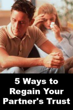 ways regain trust relationship