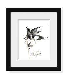 Brushstroke Floral  Series No10  by Kathy Morton Stanion