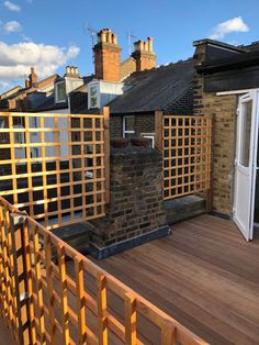 At London Decking Company we create beautiful timber and composite decking areas throughout the London,UK, using the best materials and experienced staff. Hardwood Decking, Decking Area, Composite Decking, Building A Deck, Deck Design, Surrey, London, Outdoor Decor, Cover Design