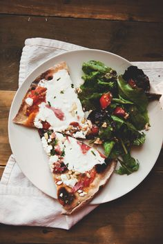 Summer Pizza  //  The Little Red House