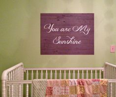 custom barnwood frames sign you are my sunshine purple 3099 http