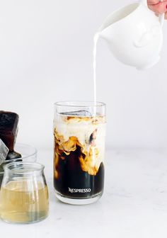 Nespresso Caramel Iced Coffee | The perfect after dinner treat. Dessert optional. Impress your guests with a refreshing finish to your delicious meal.