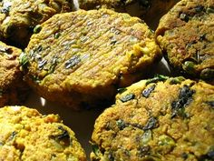 Baked Paneer and Chickpea Cutlets
