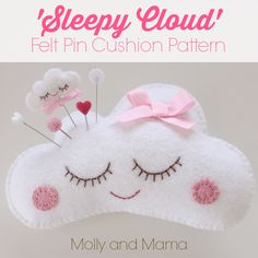Make a Felt Pear Pin Cushion | Molly and Mama