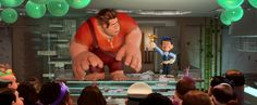 """""""Wreck-It Ralph"""" (Disney PG, 2012) *5* Hilariously entertaining animated adventure with a great story! Lots of fun inside references to video game fandoms throughout."""