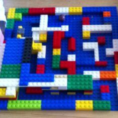 Lego marble maze kids fun activity