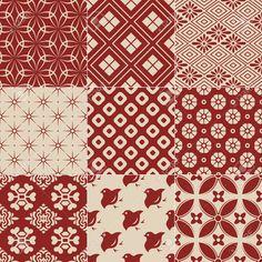 Vintage japanese traditional pattern vector 1677450 - by paul june on VectorStock Japanese Textiles, Japanese Fabric, Japanese Prints, Japanese Design, Japanese Art, Boho Pattern, Pattern Art, Vintage Pattern Design, Batik Pattern