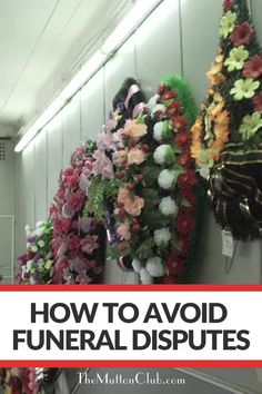 When someone dies, it's easy for emotions to get in the way if there are already tensions in place. Here's how to avoid disputes about funerals in advance - because that's the last thing anyone want to fight about! Read this now or pin for later! When Someone Dies, Funeral Arrangements, Fashion And Beauty Tips, Christmas Wreaths, Floral Wreath, It's Easy, Families, Holiday Decor, Club