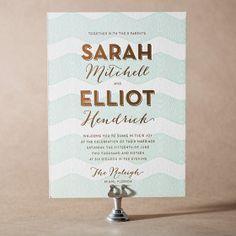 Beach wedding invitations, tropical wedding invitations | Bella Figura