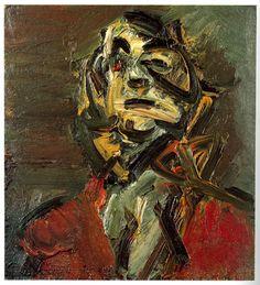 Frank Auerbach: Head of J.Y.M. 1981