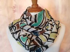 INFINITY Scarf  Long Soft wrap Lady Shawl   by Natalyfashion, $16.00