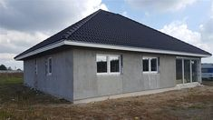 Projekt domu TK34 110,42 m2 - koszt budowy - EXTRADOM Shed, Outdoor Structures, House, Home, Homes, Barns, Sheds, Houses