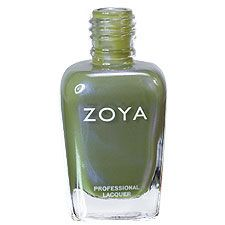 Zoya Nail Polish in Gemma can be best described as: Light muted olive green with an overlay of blue and violet duochrome shimmer. Unique, hip and cutting-edge yet subtle enough to suit any wardrobe.