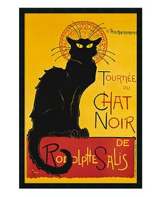 'Tournee du Chat Noir' Framed Art by Theophile Alexandre Steinlen - Wall Art - For The Home - Macy's