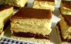 Prajitura Smantanita My Favorite Food, Favorite Recipes, My Favorite Things, Romanian Desserts, Limoncello, Gem, Bakery, Cheesecake, Deserts