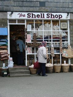 This is a great little shop well worth a visit. British Seaside, British Isles, Cornwall England, London England, Seaside Holidays, Seaside Village, Curiosity Shop, Shop Fronts, Britain