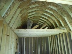 gambrel roof shed loft