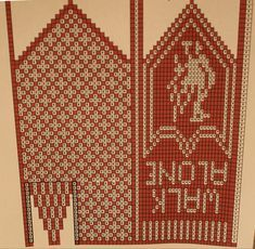 Knitting Charts, Knitting Patterns Free, Free Pattern, Knitted Mittens Pattern, Knit Mittens, Hairpin Lace, Liverpool, Bohemian Rug, Diy And Crafts