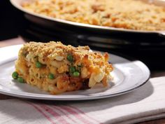 Bobby Deen's Guiltless Cheesy Mac from Not My Mama's Meals via Food Network | PEOPLE March 5, 2012