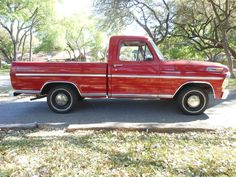 1970 F100 Candy Apple Red, Candy Apples, Red Apple, Vintage Trucks, Old Trucks, Pickup Trucks, Car Repair Service, Auto Service, Classic Ford Trucks