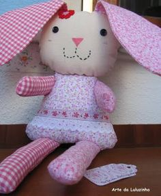 Bunny in pink.....
