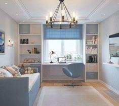 Living Room Decor Furniture, Guest Bedroom Office, Room Design, Home, Childrens Room Decor, Home Office Design, Bedroom Design, Room Interior Design, Small Room Design