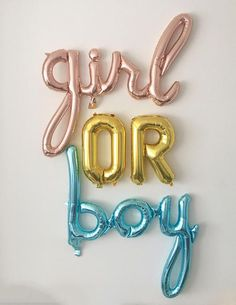 Gender reveal party ideas