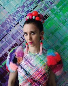 Ingunn Birkeland - Skaper for stjernene Textile Design, Textile Art, Textiles, Ballet Tutu, Sewing Studio, Dress For Success, Colourful Outfits, Couture Fashion, Hand Weaving