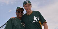 Rickey Henderson and Will Ferrell...love it