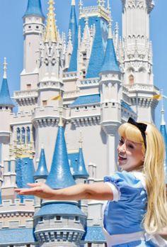Alice in the Magic Kingdom #Orlando #Disney http://www.globehunters.com/Flights/Orlando-Flights.htm