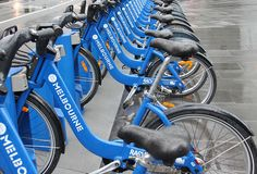 Repetition- Bikes in Melbourne by janetvincent, via Flickr