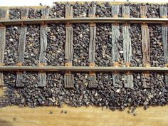 Beautiful track work and ballasting... love the weathered ties.
