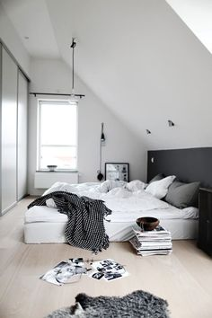 retro lampade a sospensione nero/bianco camera da letto del ... - Bianco In Camera Da Letto