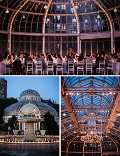 The Palm House at Brooklyn Botanic Garden Wedding by Brookelyn