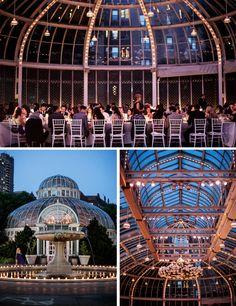 jewish greek wedding at brooklyn botanical garden new york the palm house venue