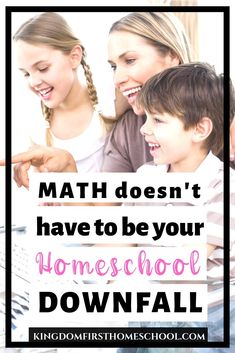 It may seem impossible, but math doesn't have to be your homeschool downfall. Teaching math can be fun and math lessons can be rewarding. Here's how to make homeschool math a joy! #mathcurriculum #homeschoolmath