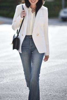 6 Ways to Style the Classic White Button-Down