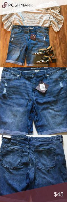 🌺✨💖Ava&Viv Bermudas🌺✨💖 🌺✨💖Perfect,the,fit the color,the stretch🌺✨💖 Ava&Viv Jeans