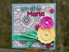 Happy Birthday Card *American Crafts* - Scrapbook.com