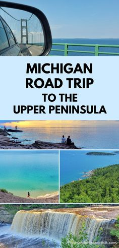 michigan road trip. best places to visit in the midwest. us outdoor travel destinations. vacation spots, ideas, places in the US. michigan things to do upper peninsula up north, great lakes, lake superior. US outdoor vacation road trip midwest from wisconsin, chicago, minnesota, illinois, indiana, ohio