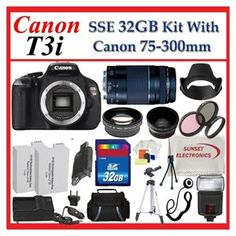 Canon EOS Rebel T3i (600D)!! This is the best between price and quality of picture that I've seen thus far