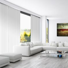 Cortinas Verticales Nano Screen Opac Roll Up Curtains, Roman Curtains, Curtains With Blinds, Modern Grey Kitchen, Grey Kitchens, Clean Living Rooms, Living Room Modern, House Blinds, Blinds For Windows