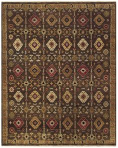 Ashi Brown Area Rug