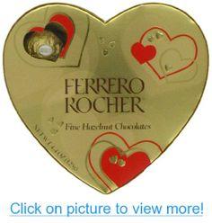 Ferrero Rocher Heart Gift Box, 10 Pieces, 4.4-Ounces
